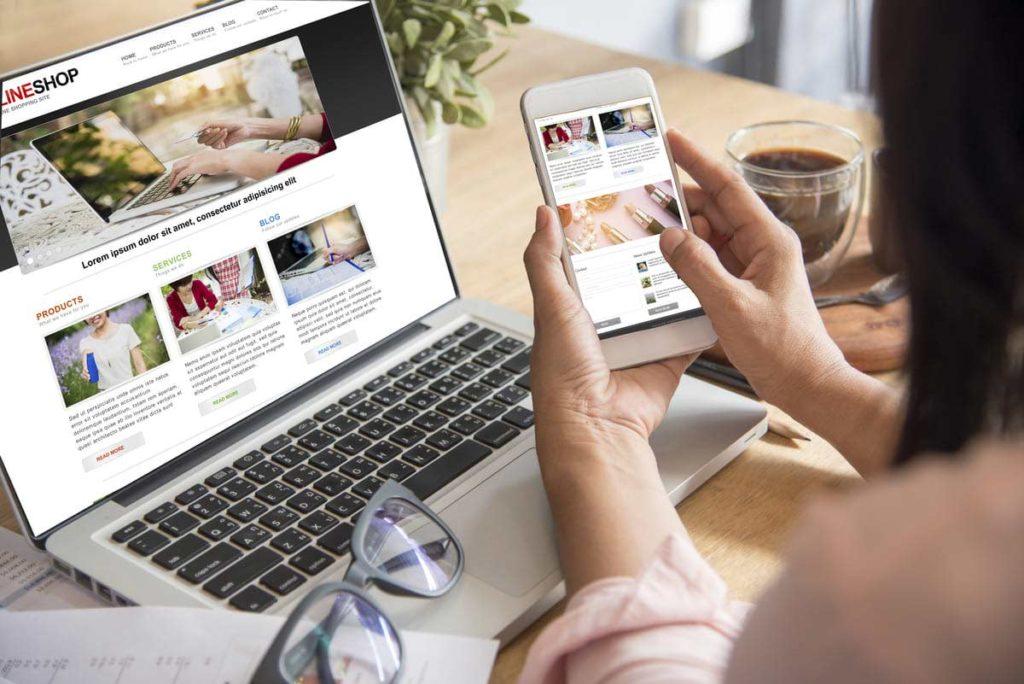 site web mobile